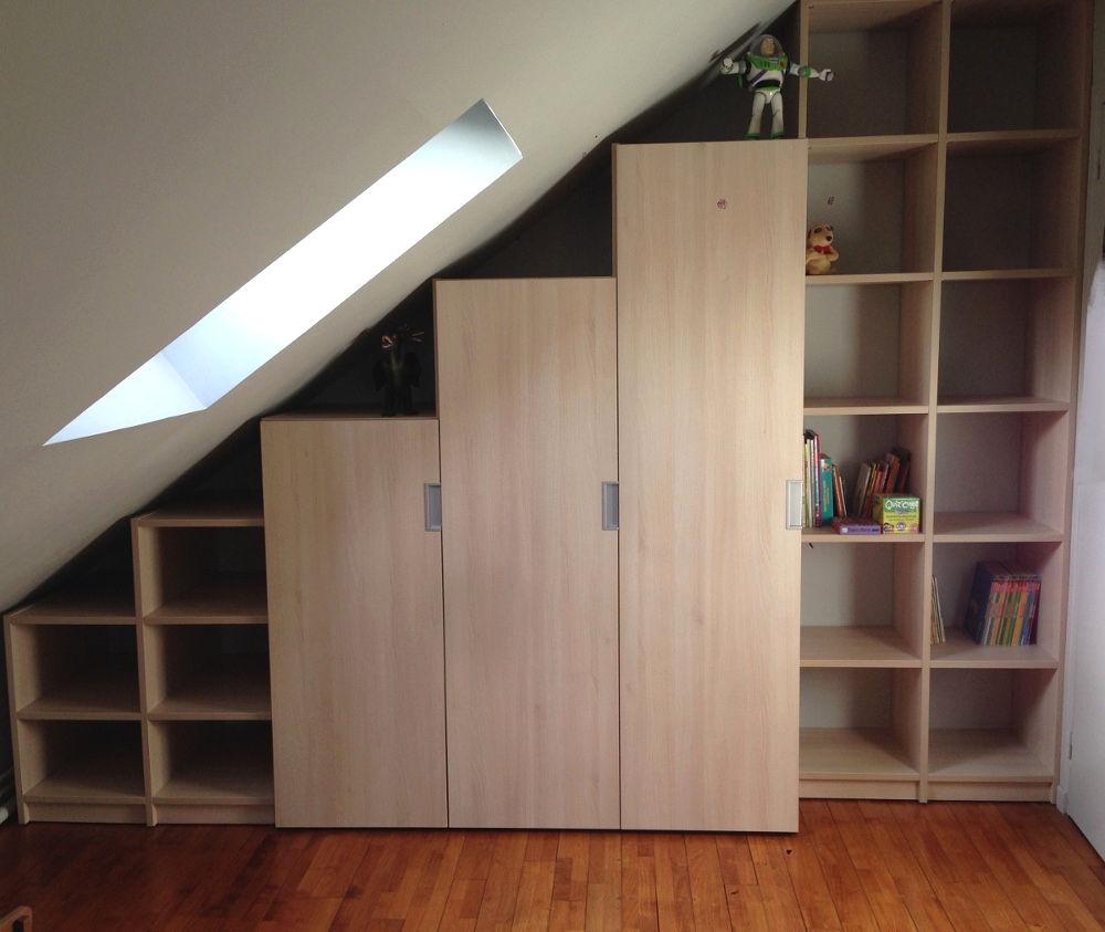Chambre avec armoire sus-pente latérale Innovhome