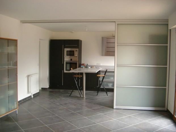 Séparation cuisine séjour par Innov'Home